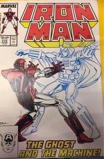 Iron man #219 - 229 ( 1st Ghost )