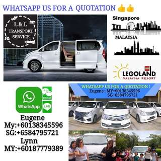 Limousine Service Sg to malaysia