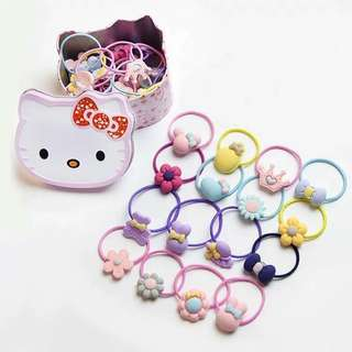 30pcs ponytail with HK can