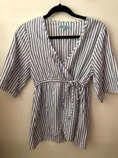 Striped top/dress
