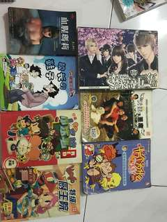 Various Chinese reading comic/story