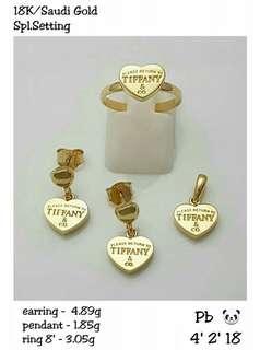 Saudi Gold Sets 18K