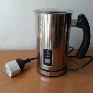 Stainless steel electric  milk frothe