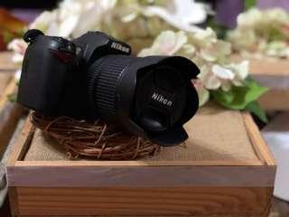 Nikon D90 + charger + battery + bag
