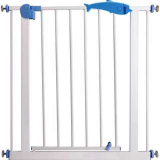 BNIB Metal Safety Gate with Extensions for Kids or Pets