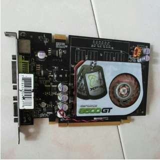 256MB geforce 8500GT VGA/DVI pcie graphic card. In GOOD WORKING CONDITION. SUPPORTING UPTO 512MB. SELF PICKUPP
