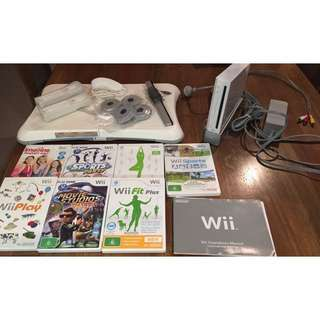 Nintendo Wii Bundle Pack With Balance Board