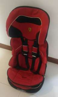 Ferrari Car Child Seat