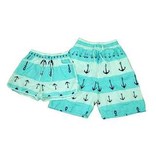 Beach wear couple shorts (1pair)