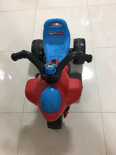 Electric ride on bike for kids