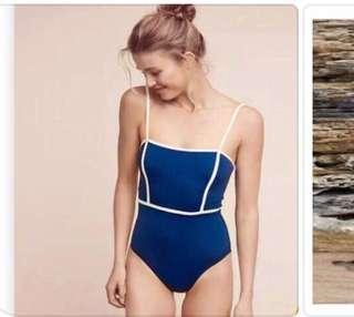 Swimsuit Classic Blue
