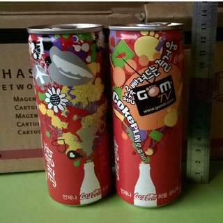 COKEPLAY Korea Cans (Set of 2)