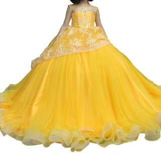 Belle Inspired Yellow Ball Gown
