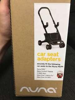 Nuna Pepp Car Seat Adapter