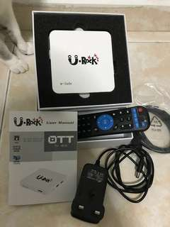 Android Box 'U Rock' for Smart TV