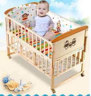 Katil Baby 2 Tingkat (Baby Cot)