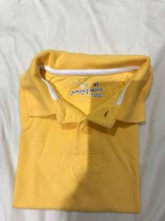 Jumping beans polo shirt for toddler boys