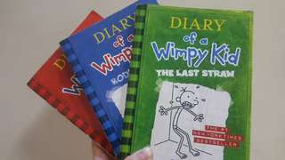 Diary of a Wimpy Kid (Sale!) Volume 1. 2. 3.