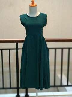 Dres hijau panjang