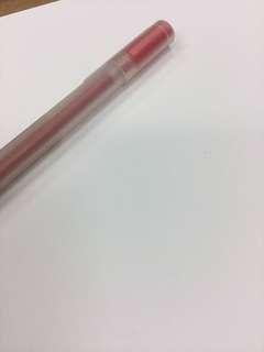 Red pen muji