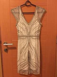 Miss Selfridge Sequinned Dress