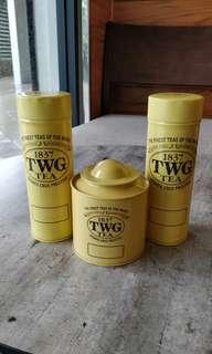 Modern Tea Tin in Yellow 100g