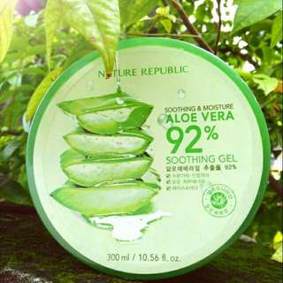 Nature republic aloe vera soothing gel 300 ml