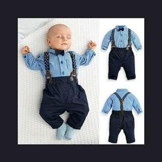 Gentlemen Overalls for Infant