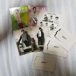 [free with purchase] got7 star collection card + 7for7 present edition event card