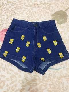 Short pants levis