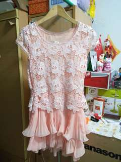 Peach Pinky Dress For Sale!!!