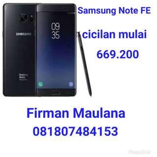 Samsung galaxy Note FE bisa kredit
