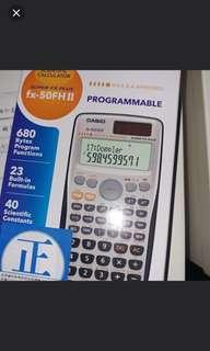 Casio fx-50FH II 全新有單 calculator