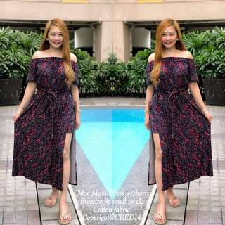 NEW ARRiVAL PRiNTS CHLOE MAXi DRESS rt-P410 Freesize/Onesize/Fits Small-XL Frame Photo Credits to the Owner SUNDAY-PICKUP MONDAY-SHIPPING
