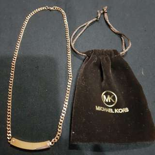 Michael Kors ID Necklace