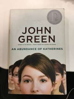 "John Green's ""An Abundance of Katherines"""