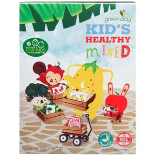 Greenday Baby Healthy Mixed Snack ( Crispy Apple , Banana , Broccoli , Strawberry )