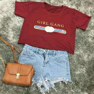 Girl Gang Croptop
