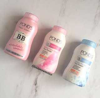 Pond's BB Magic Powder / Pond's BB Powder / Pond's Pinkish White Glow