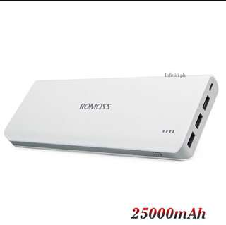 Brand New Romoss 25000 mAh powerbank