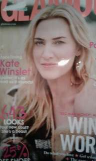 Glamour October 2017 Kate Winslet issue.