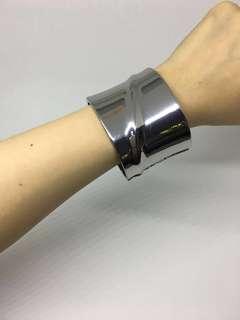 Authentic Mango Silver Bangle Bracelet