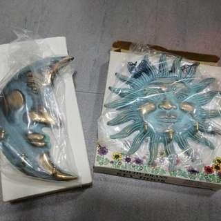 Sun & Moon Key holder