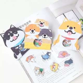 What Shiba Does Scrapbook / Planner Stickers #99