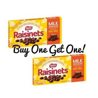 Nestle raisinets buy one get one