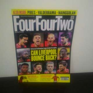 FOOTBALL FourFourTwo July 2015