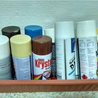 $0.50 Spray Paints