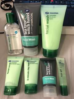 Boots skincare products