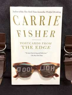 # Novel《Bran-New + Semi-Autobiographical Novel by Carrie Fisher》Carrie Fisher - POSTCARDS FROM THE EDGE