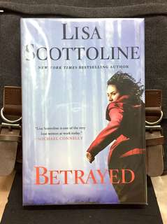 # Novel《New Book Condition + Hardcover Edition + Mystery Murder Thriller Fiction》Lisa Scottoline - BETRAYED